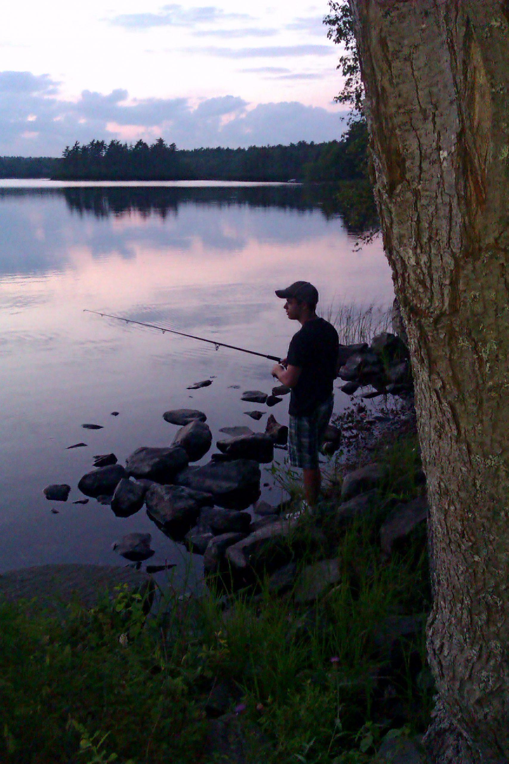 James Jabalee fishing
