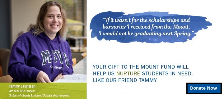 Tammy Banner for Mount Fund page