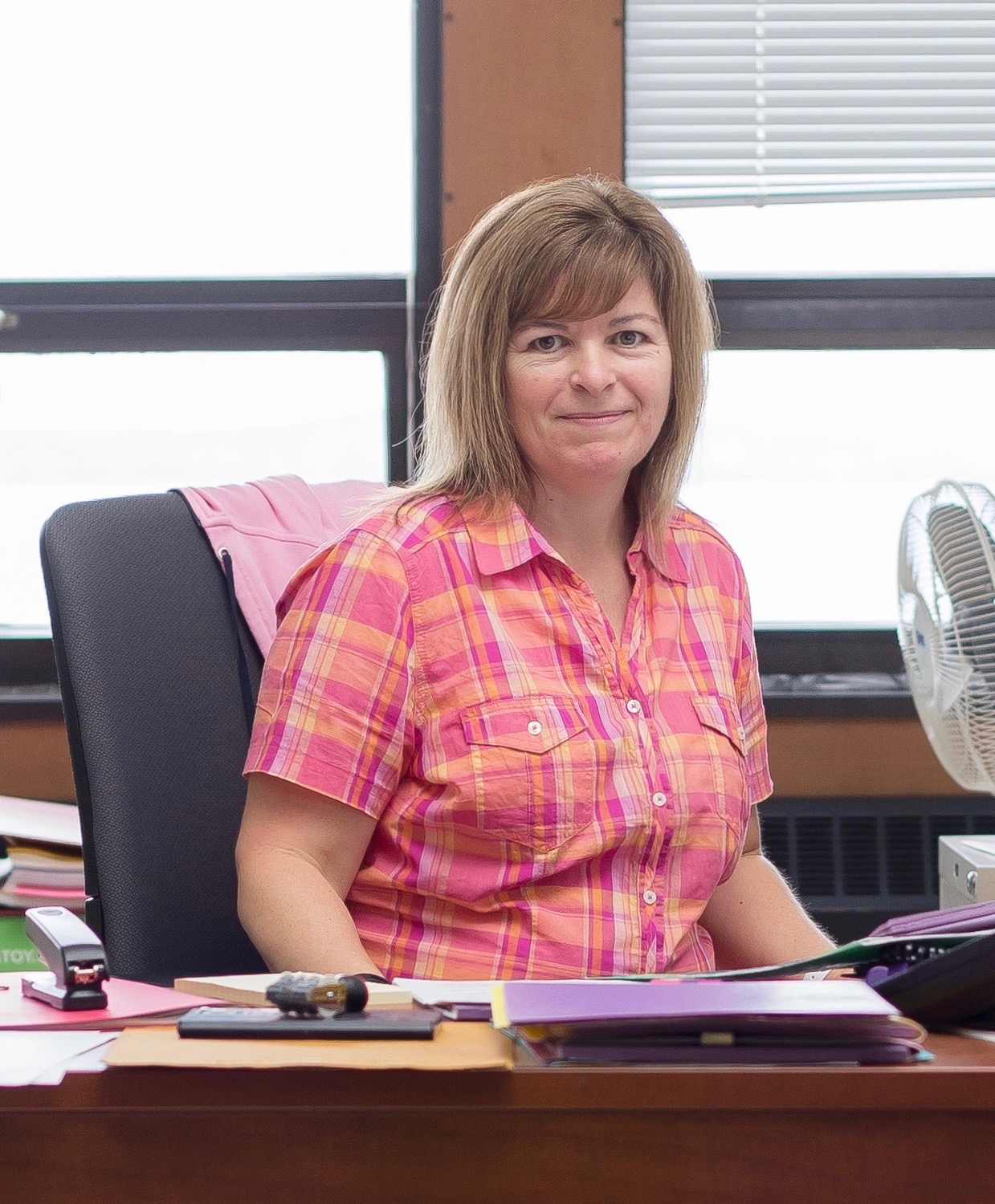 Tracy McDonald English Administrative Assistant