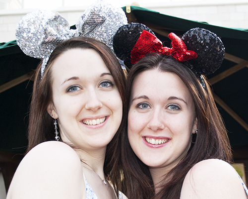 Twins Minnie Ears