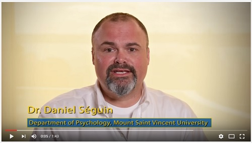 Video link - Dr. Dan Seguin
