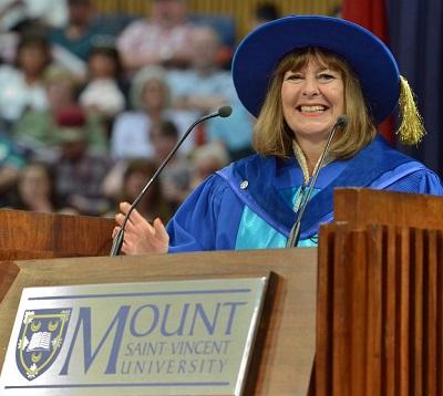 WEBSITE - Gail Asper -- Honorary Degree recipient