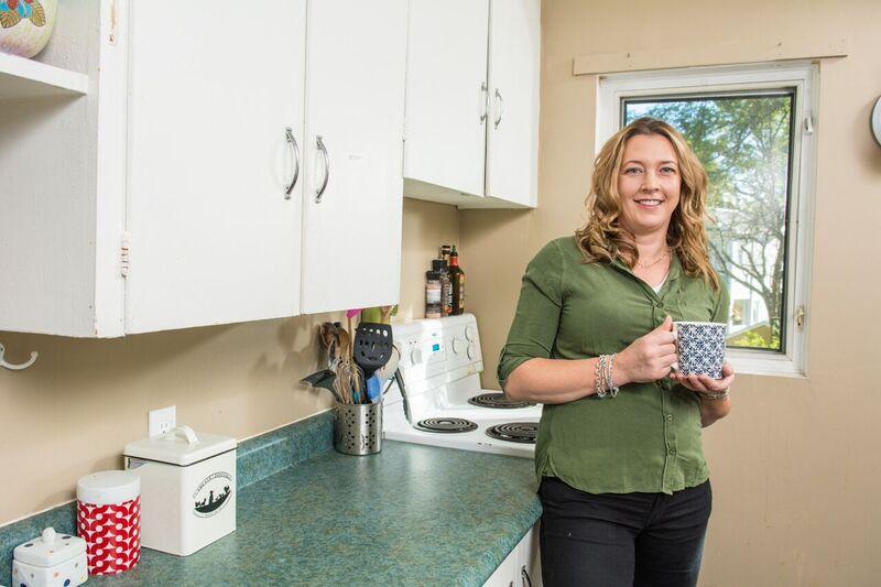 ali in kitchen photo credit aaron mckenzie fraser