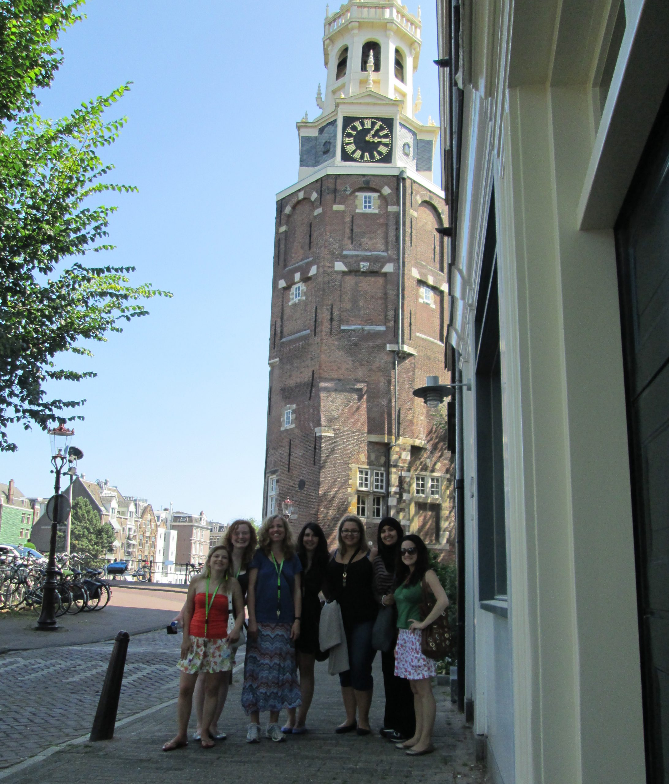 Alan Brown's class in Amsterdam