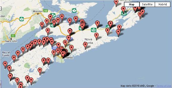 Borrow Anywhere Return Anywhere map