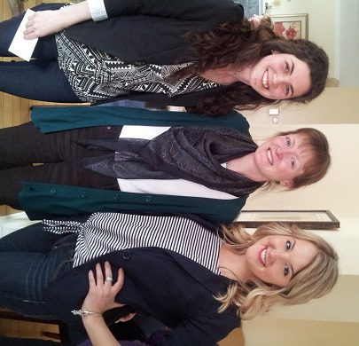 brittany and ceilidh with professor juliette valcke