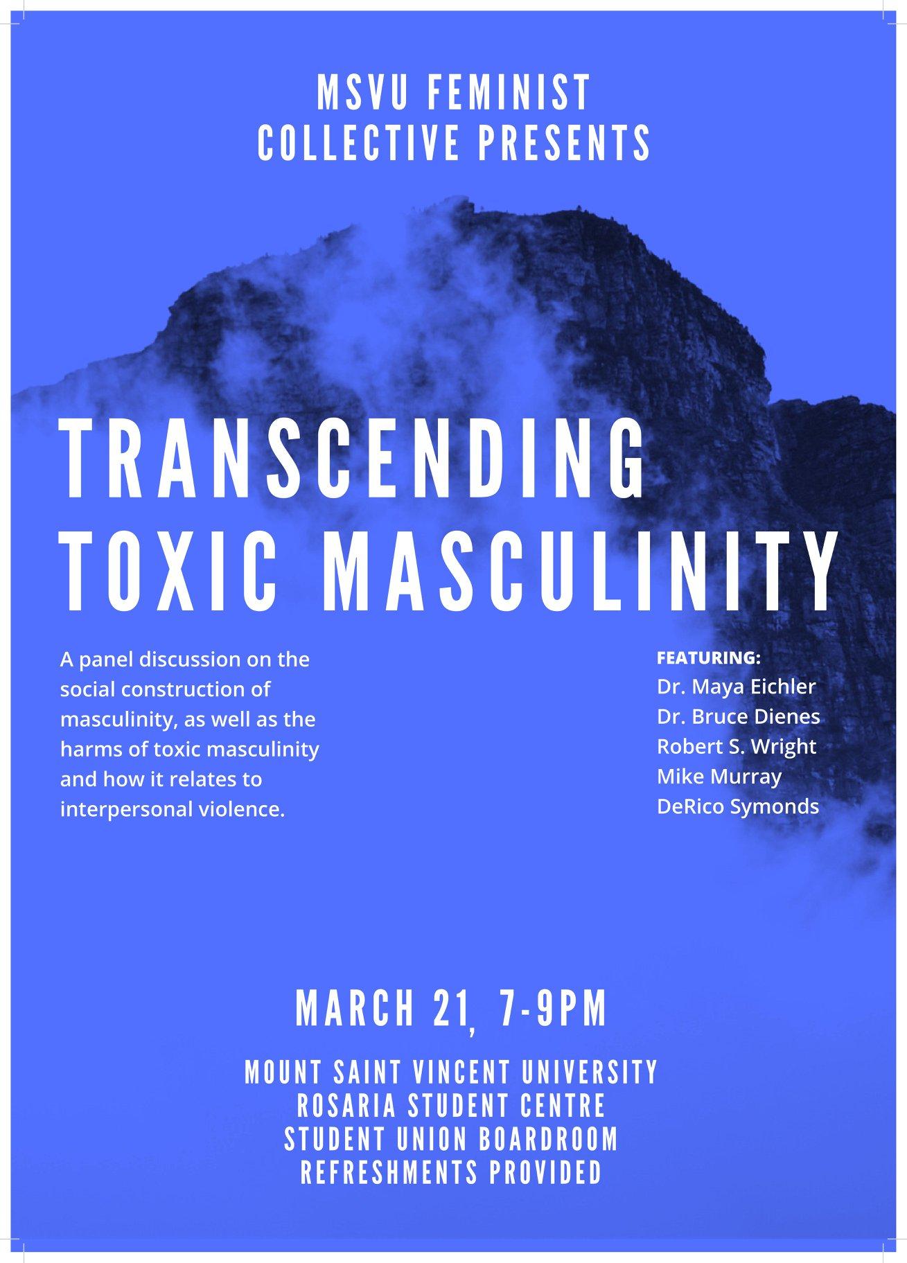 toxic masculinity panel