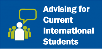 Advising for Current International Students