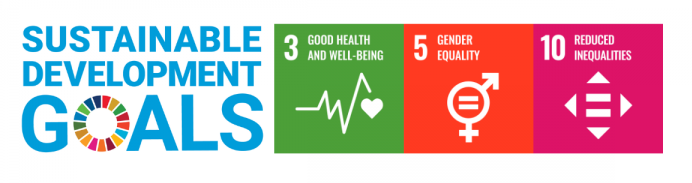 Sustainable Development Goals for Phillip Joy: Good Health and Well Being; gender equality; reduced inequalities