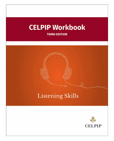 celpip workbook third edition listening skills