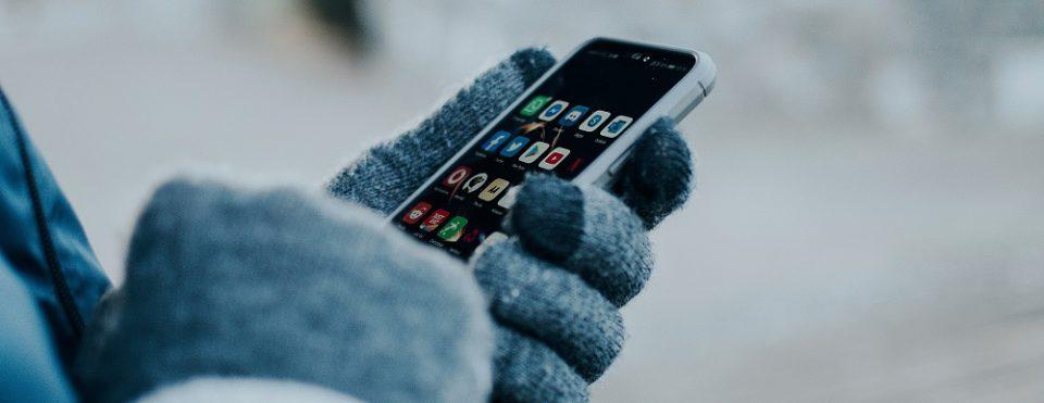 Ellucian App through a mobile device