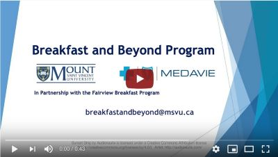 Video thumbail for Breakfast and Beyond Program Introduction Video