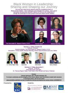 Black Women in Leadership Poster
