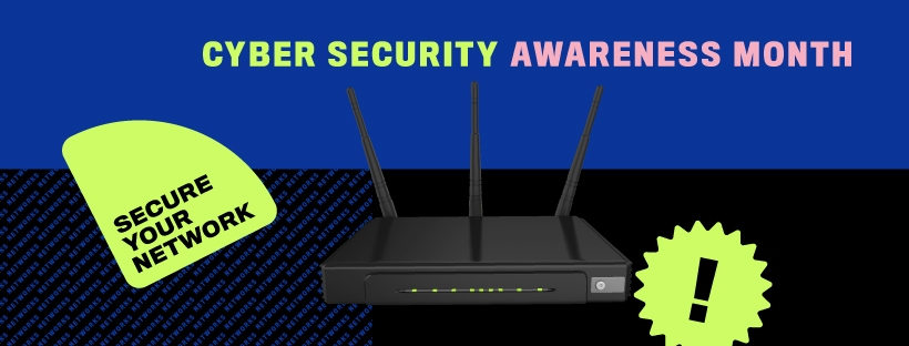 Secure your network #cyber