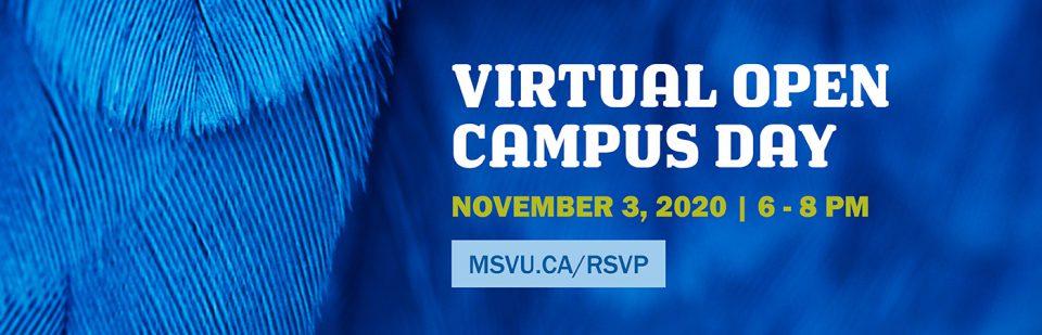 Virtual Open Campus Day: Nov 3
