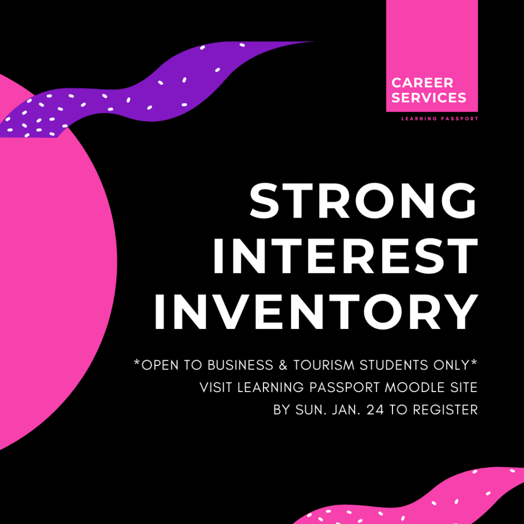 Strong Interest Inventory - LP Event
