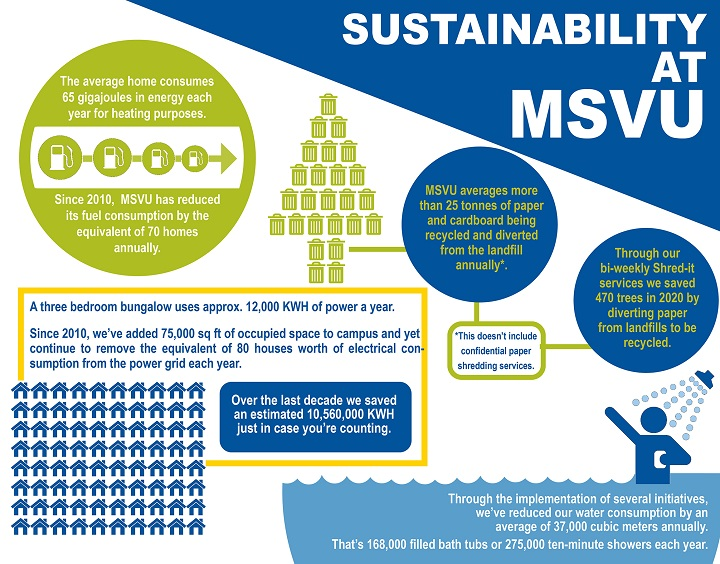 Earth Day Sustainability infographic