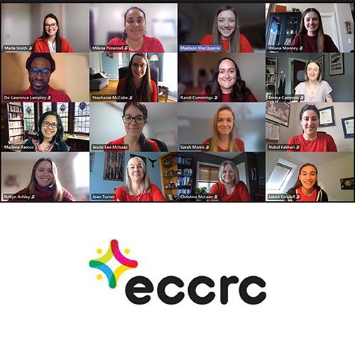 ECCRC online team meeting