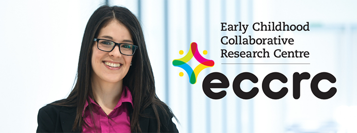 Dr. McIsaac with ECCRC logo