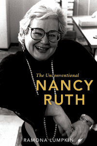 The Book Cover for Unconventional Nancy Ruth by Ramona Lumpkin