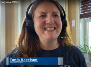 Tanja Harrison in the Flourish at MSVU video
