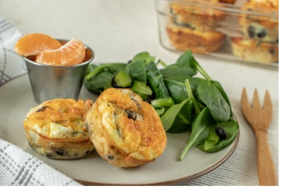 Crustless Mini Quiches with Black Beans thumbnail image