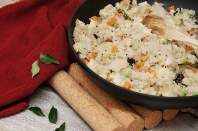 Image of Indian Semolina Breakfast (Veggie Upma) recipe