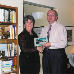 Rick Walden and Dr. Sheila Brown